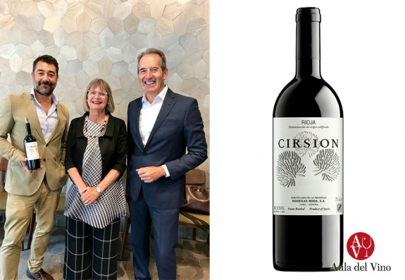 Bodegas Roda presenta Cirsion 2016 en Londres
